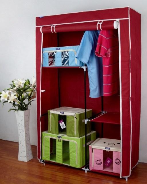 [Hot Item] Wardrobe Apartment Furniture/ DIY Portable Closet (XS-W13100)
