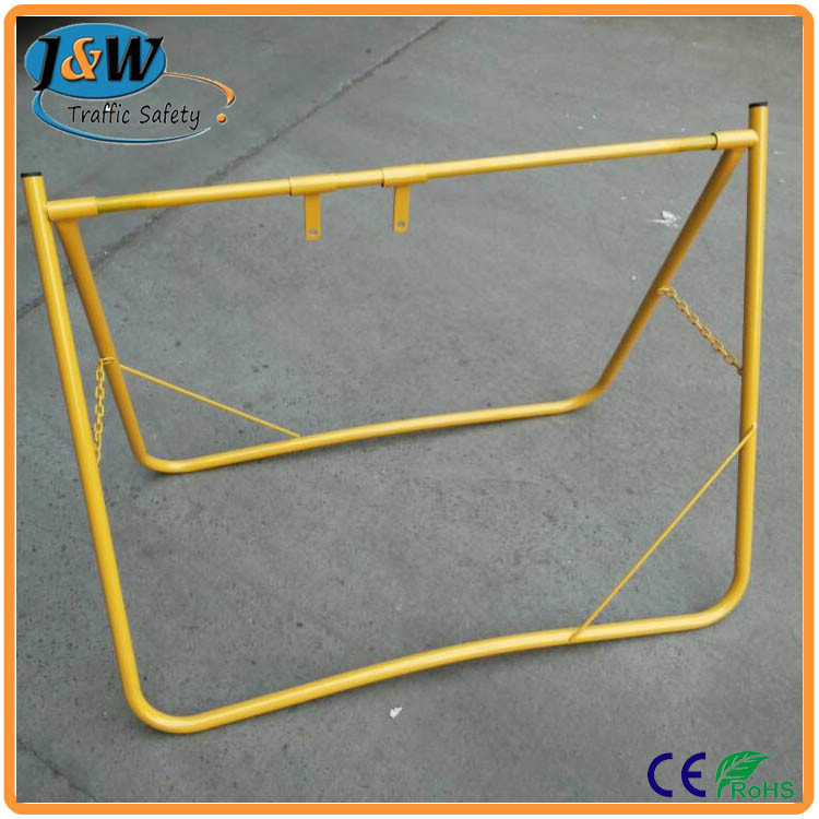 China Portable Swing Sign Frame with Yellow Painting - China Swing ...