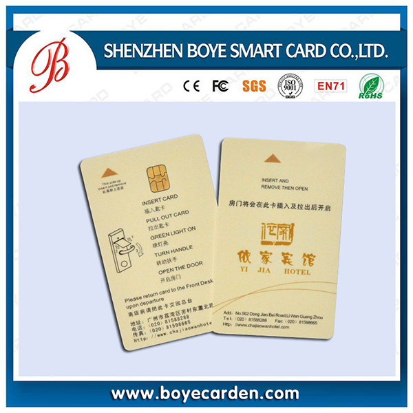 [Hot Item] PVC Contact/ Contactless Smart IC Card with Good Price