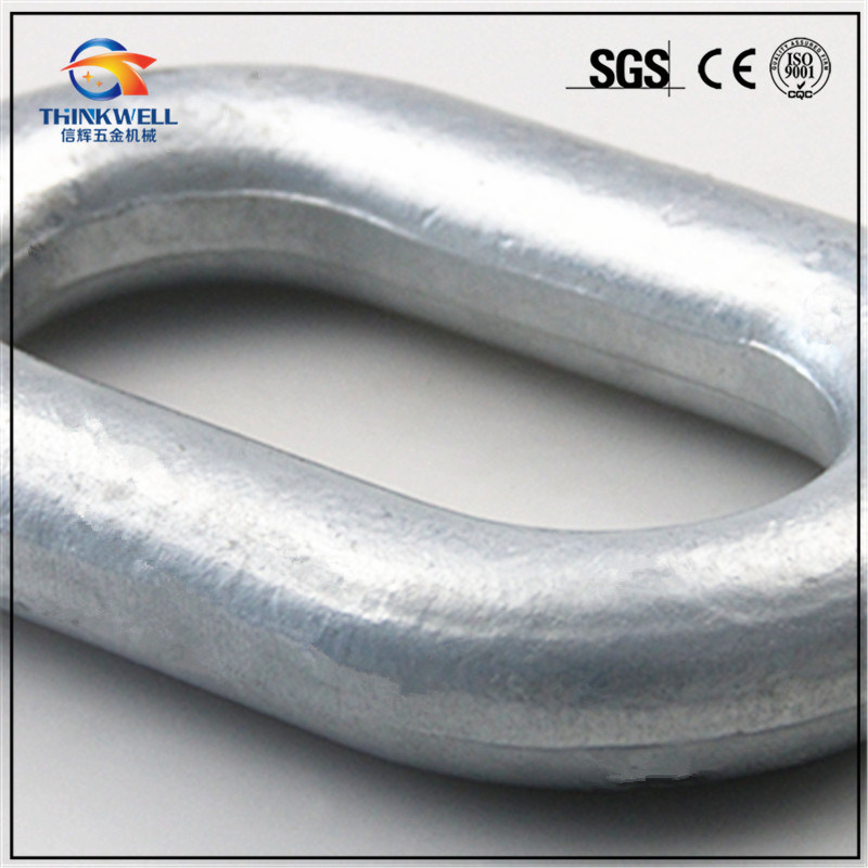 Forged Electric Power Fittings Chain Link Extension Ring