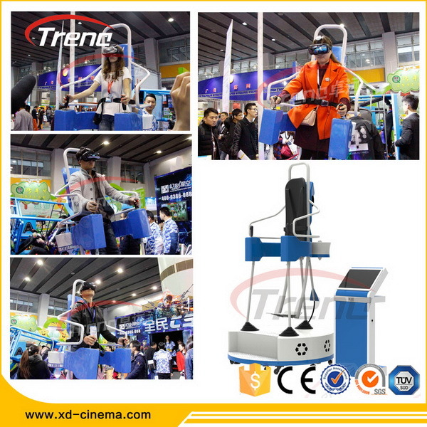China Guangzhou Factory Price Flight Virtual Reality Machine