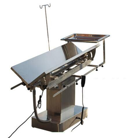 High Quality Stainless Steel Temperature Control Veterinary Ot Table pictures & photos
