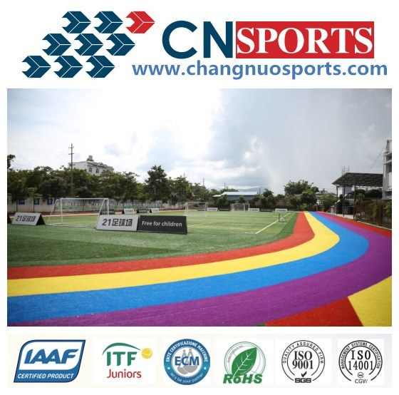 Multi Color Professional Soccer/Football Synthetic Artificail Grass Turf pictures & photos