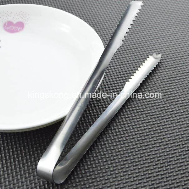 China Wedding Sweet Table Buffet Tong Metal Ice Tongs Bar Party
