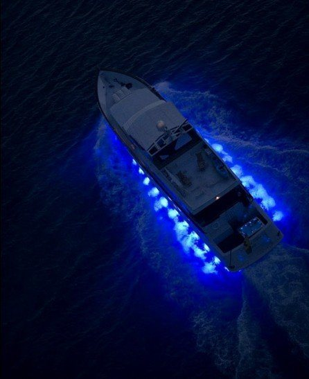 China 36w Rgb Color Changing Led Underwater Boat Lights