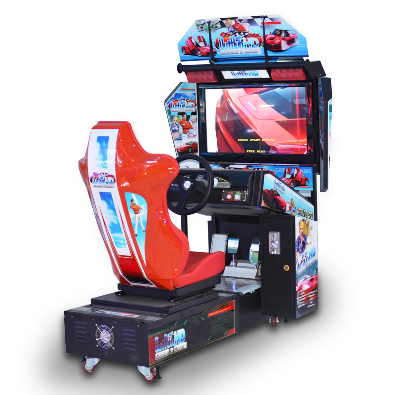 China Indoor Game Center 32 Inch Hd Outrun Arcade Racing Game Machine China Arcade Games Car Race Game And Video Game Machine Price