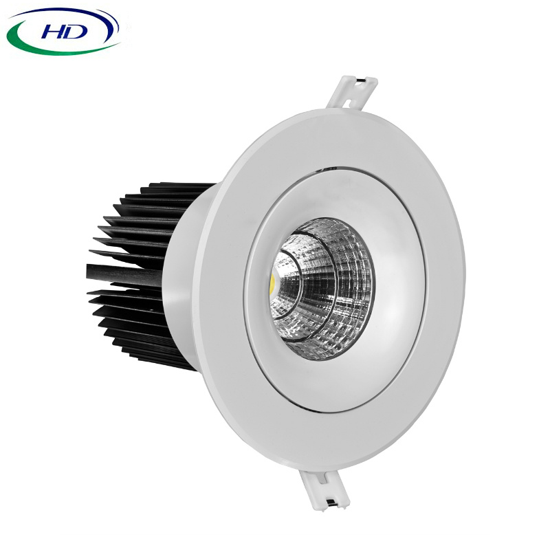 30W/40W COB-W Series Adjustable LED Downlight pictures & photos