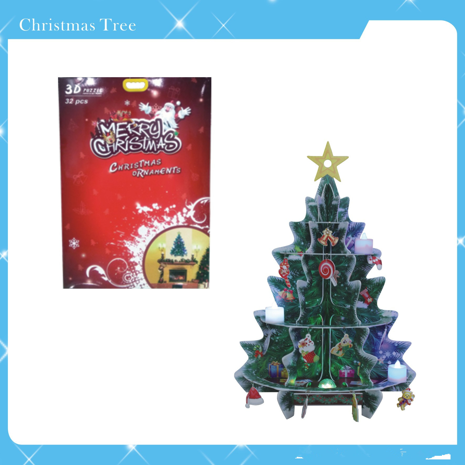China New Products Top Quality Diy Felt Christmas Tree For Kids Gift