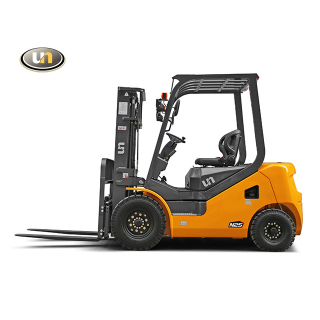 China 2500 Kgs Diesel Forklift with Isuzu Engine and Triplex 4.5m ...