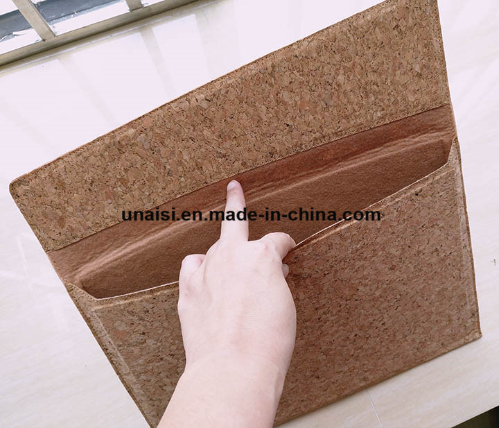 reputable site d9820 ea46f China Custom Cork Case Laptop Sleeve for 13.3inch MacBook Air PRO ...