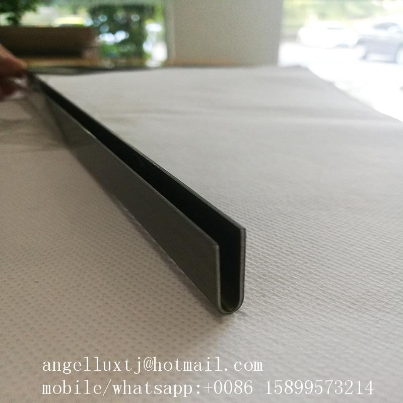 China Foshan Factory Stainless Steel U Round Shape