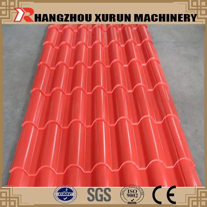 China Steel Tile Profile (YX-970) PPGI Metal Roofing Panels