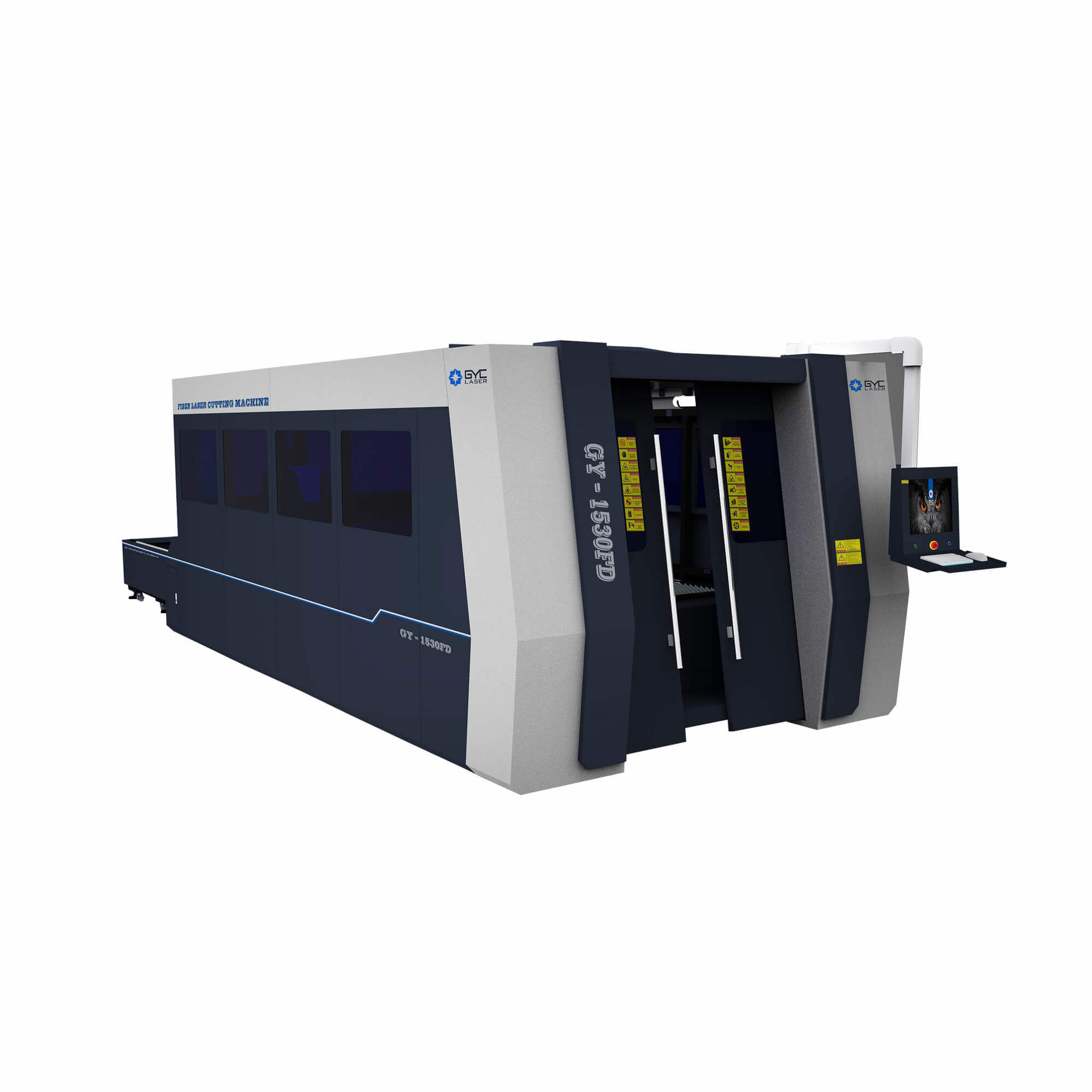 Gy-1530fd Fiber Laser Stainless Steel Metal Cutting Technology Machine pictures & photos