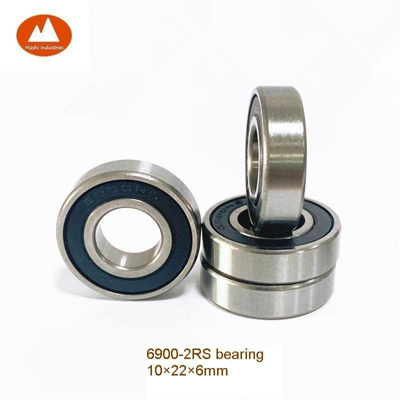 10 Ball Bearing 6700-2RS RS 10mm Stainless Sealed