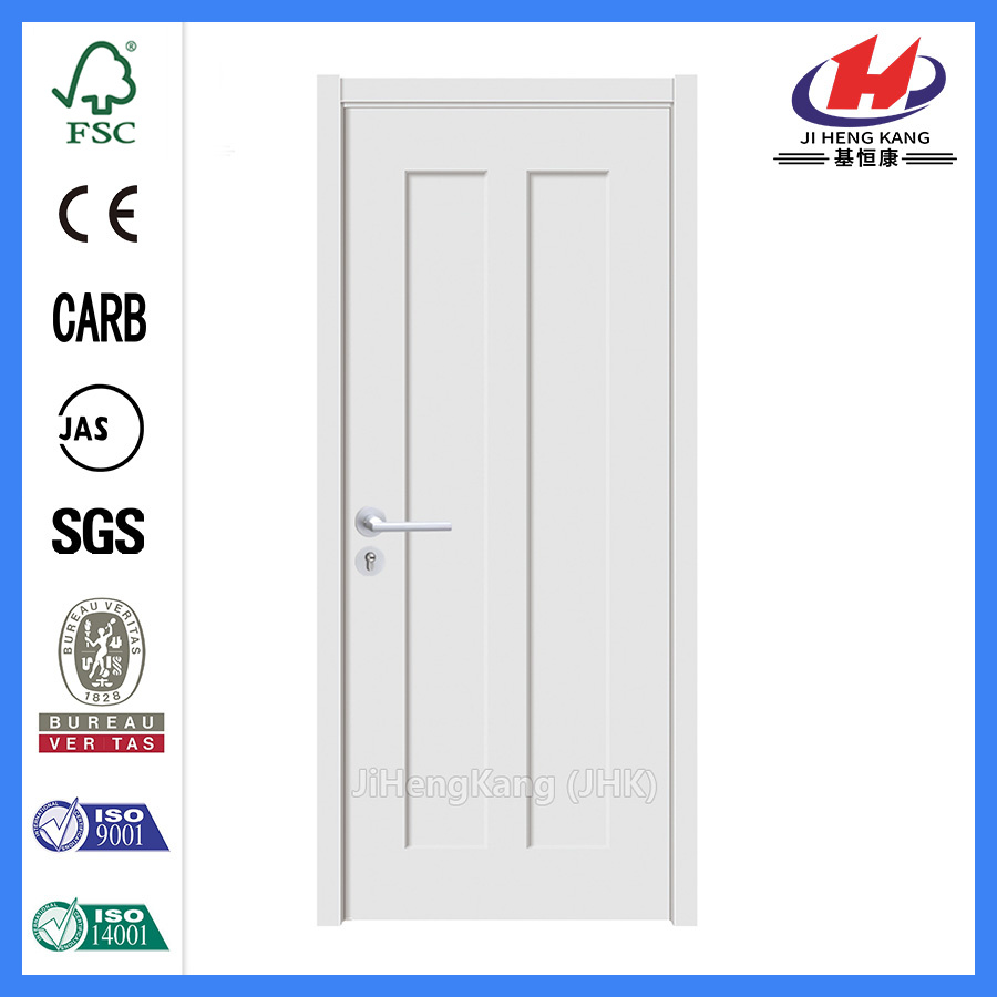 China 30 Minute Fire Rated Wooden White Finished Interior Doors Painted Door School