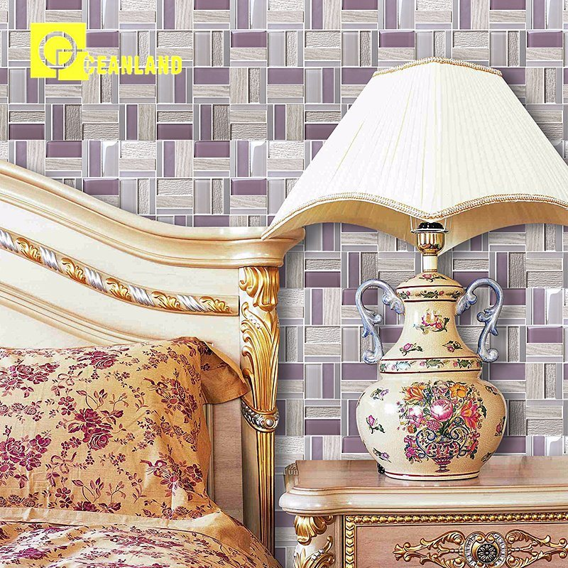 China Different Types Cheap Marble Ceramic Mosaic Tiles Of Oceanland