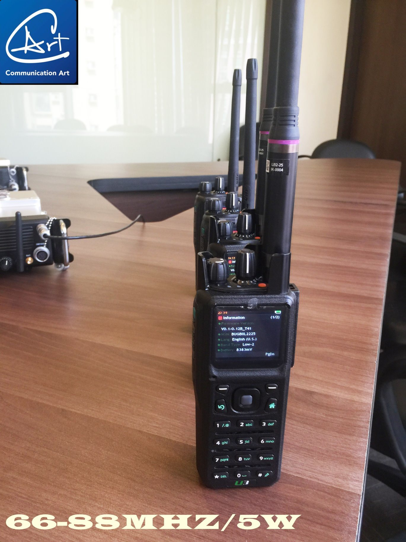 China Dmr 66-88MHz Dmr and Analog Two Way Radio for Dmr
