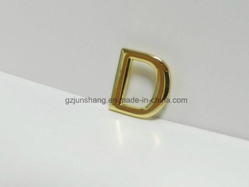 China Factory Price Custom None Welded Metal D Ring Handbag Hardware Accessories