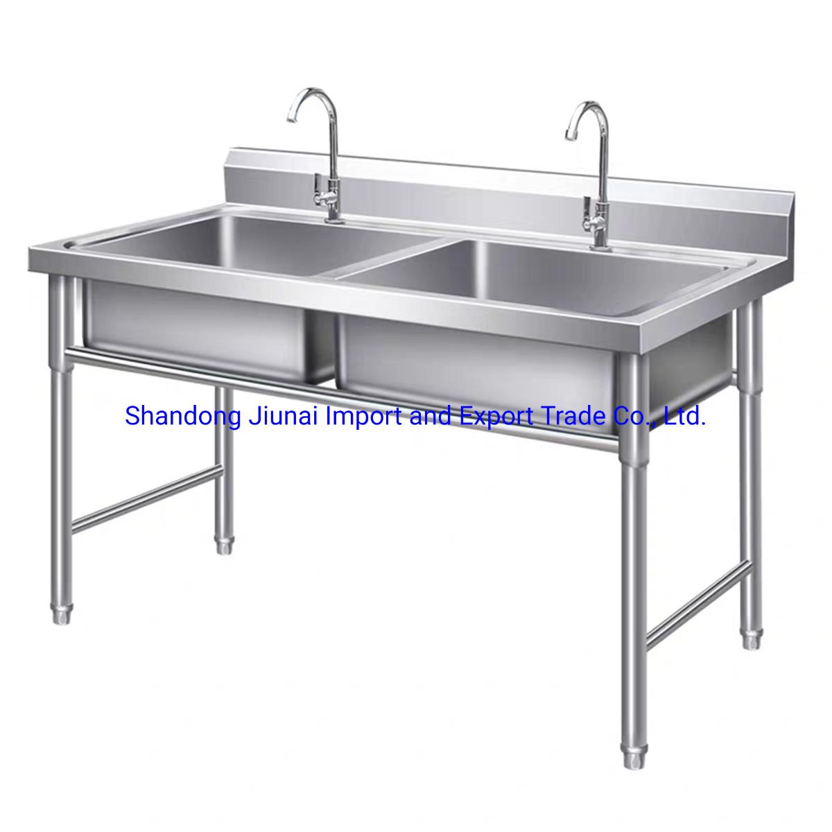 China Restaurant Kitchen Equipment 3 Compartment Stainless Steel Sink China Kitchenware Kitchen Sink
