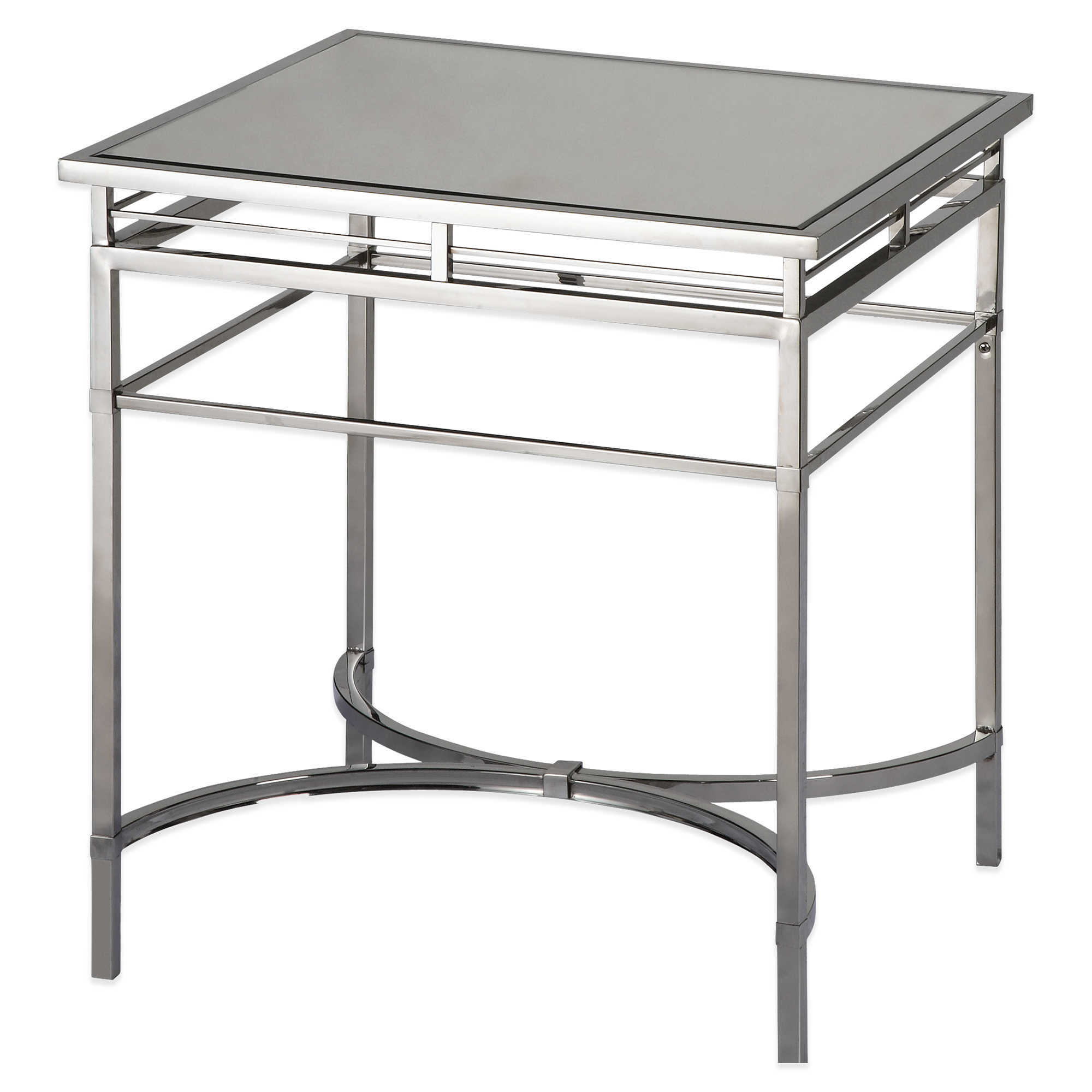 Picture of: China San Francisco Stainless Steel With Glass Top Side Table Small Coffee Table China Glass Coffee Table Simple Design Coffee Table