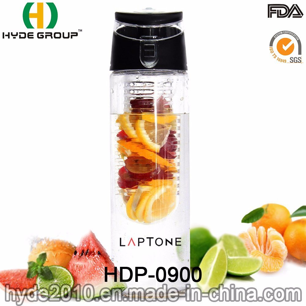 China 750ml Bpa Free Tritan Fruit Infuser Water Bottle Portable New Infusd Plastic Infusion Hdp 0900