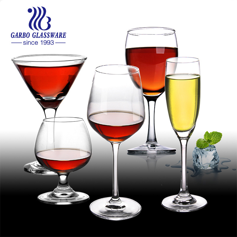 China Eco Friendly Crystal Red Wine Glass Champagne Glass