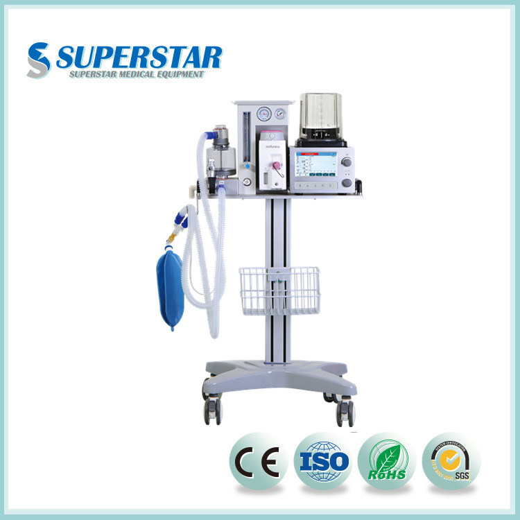 [Hot Item] Good After Sales Service Veterinary Anesthesia Machine with  Ventilator Dm6b for Vet