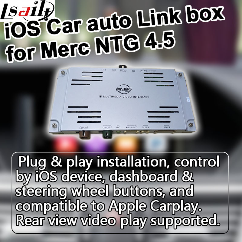 China Carplay Box for Mercedes Benz Ntg 4 5 System W204 W212