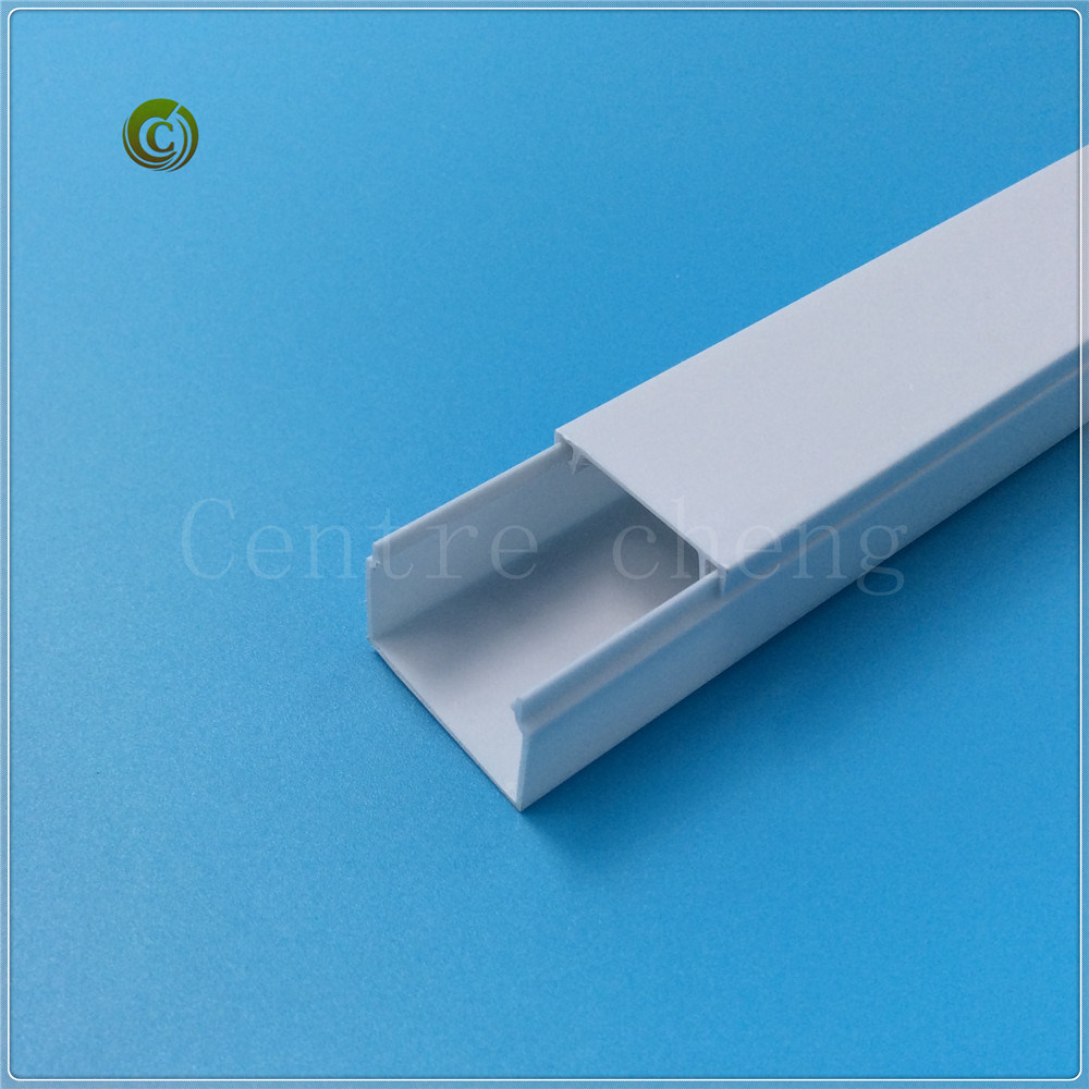 China 50X75mm PVC Cable Trunking Electrical Trunking Cable ...