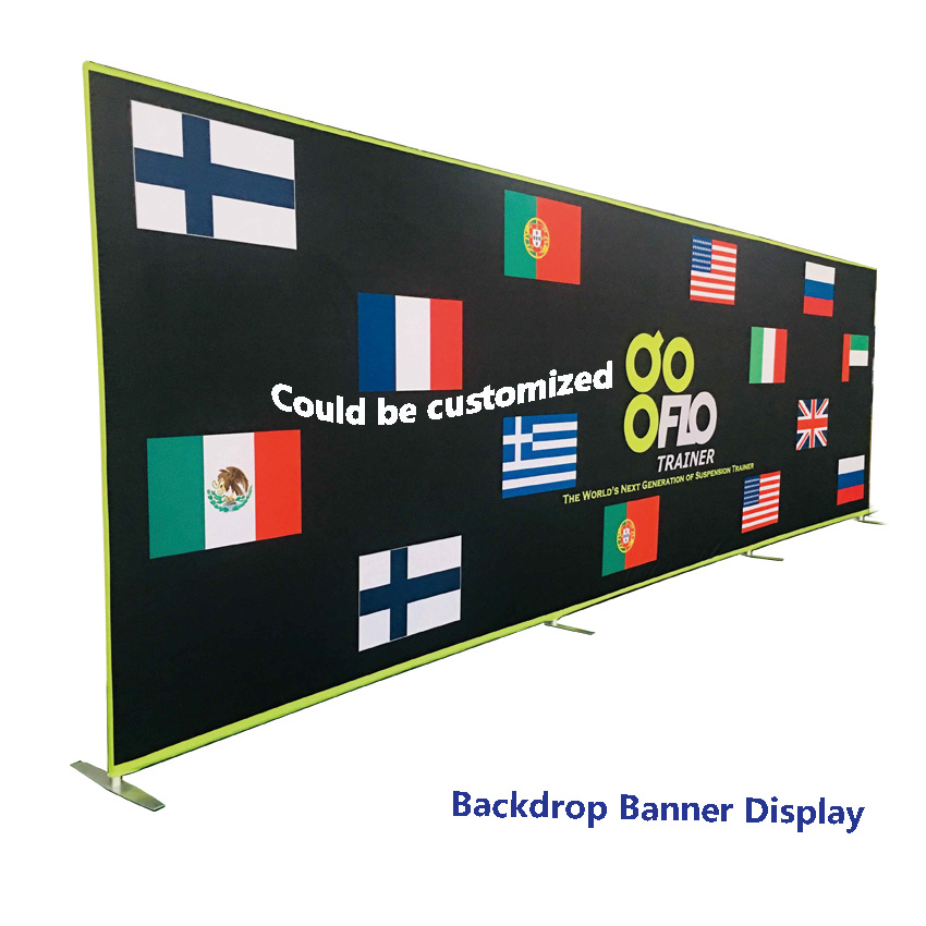 Exhibition Booth Backdrop : China 20 feet trade show exhibition booth banner display backdrop