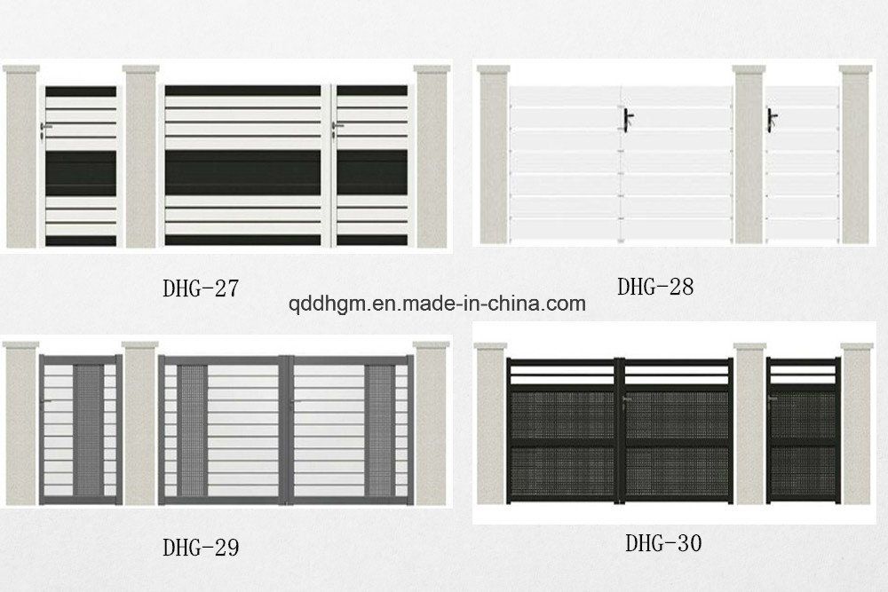China Aluminum Front Entrance House Main Gate - China Gate ...