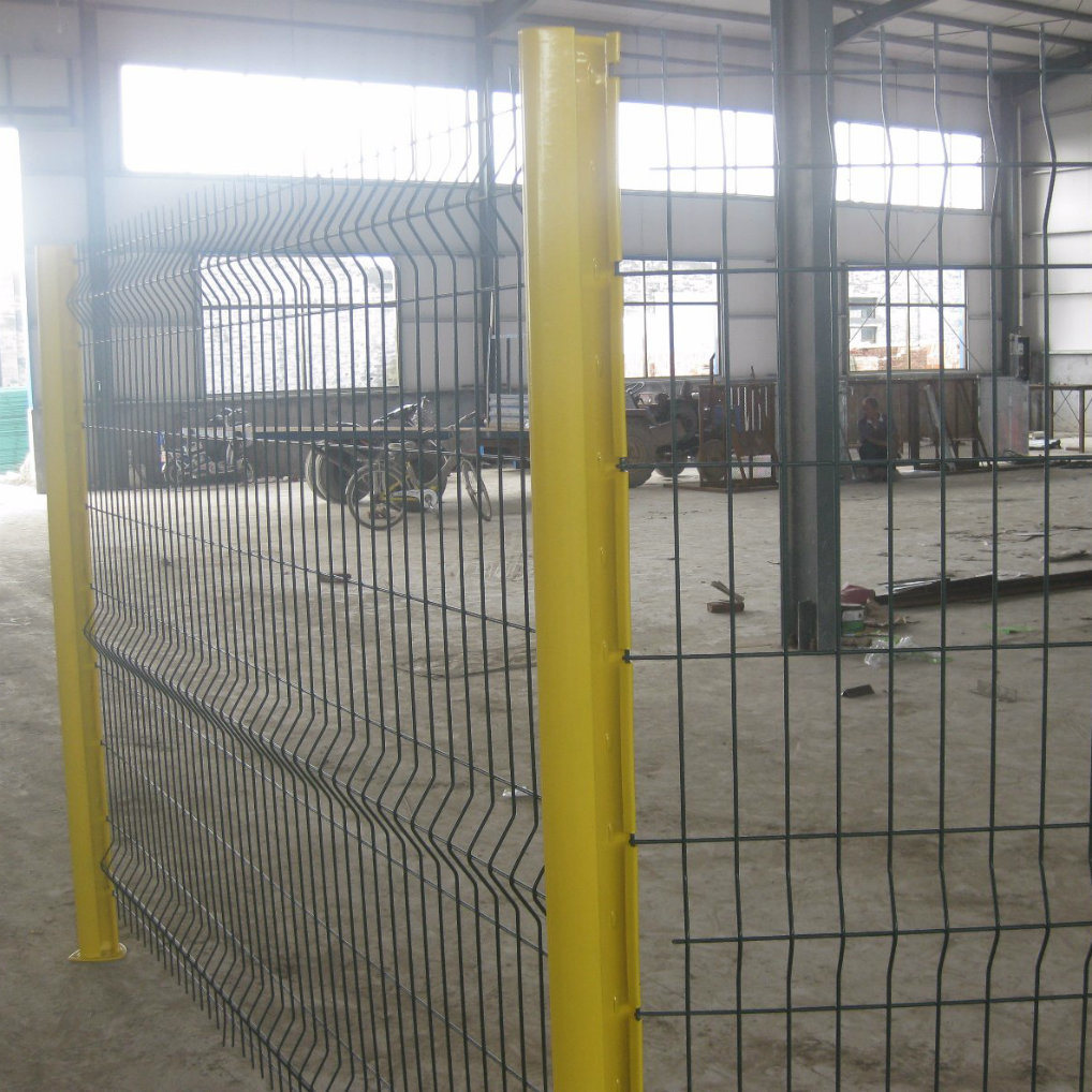 China Perison Security Welded Wire Mesh Fence with Curved - China ...