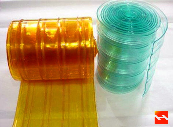 China PVC Strip Curtain Plastic Roll Curtain Supply