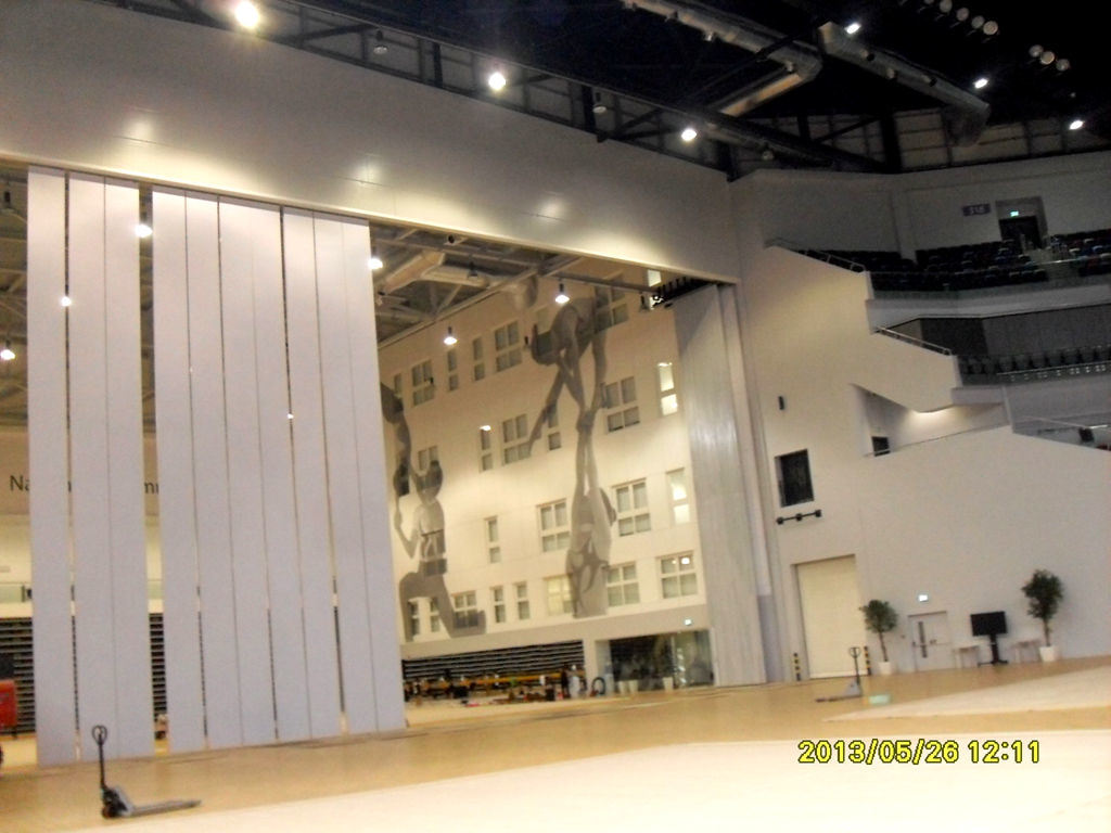 Operable Partition Walls For Exhibition Center, Sports Center and Conference Hall pictures & photos