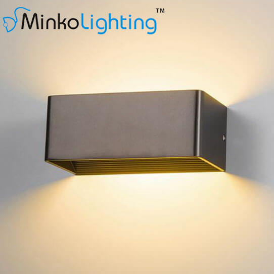 China Outdoor Modern Led Wall Light Fixtures China 30w Outdoor Led Exterior Wall Lamp Outdoor Dual Head Sconce Led Exterior Wall Lamp