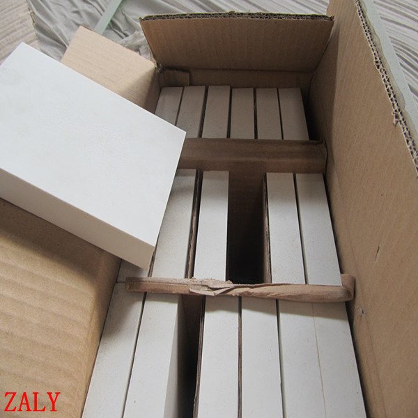 Stock Sale 150X100X12/6mm High Alumina Lining Brick for Ball Mill