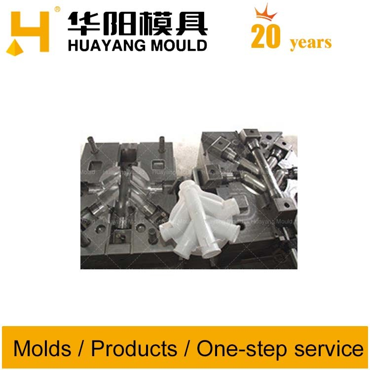 Four Way Pipe Fitting Mould (HY136)