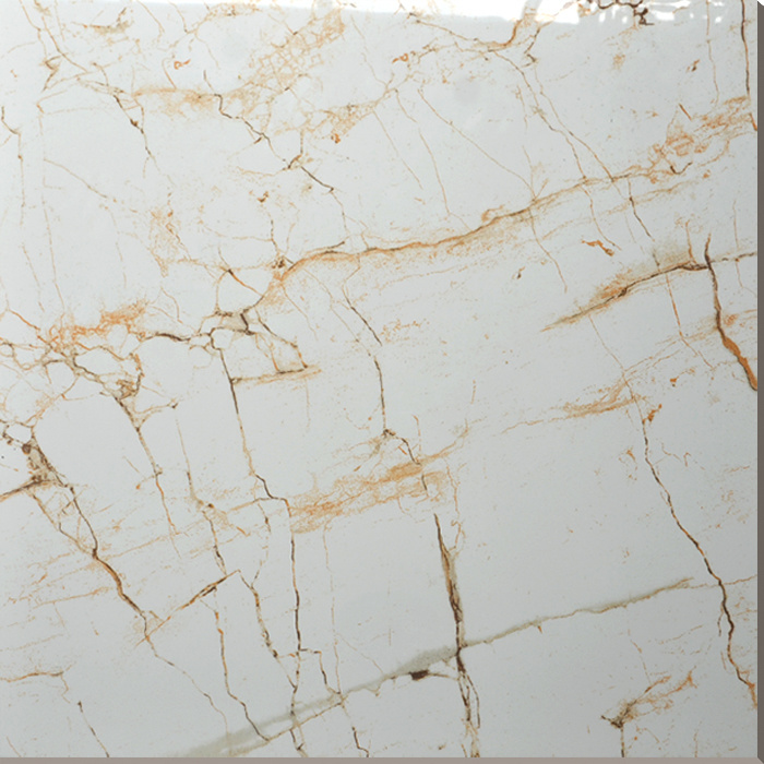 China Hs637gn 600x600mm Spider Cream Wall Marble Ceramic Tile