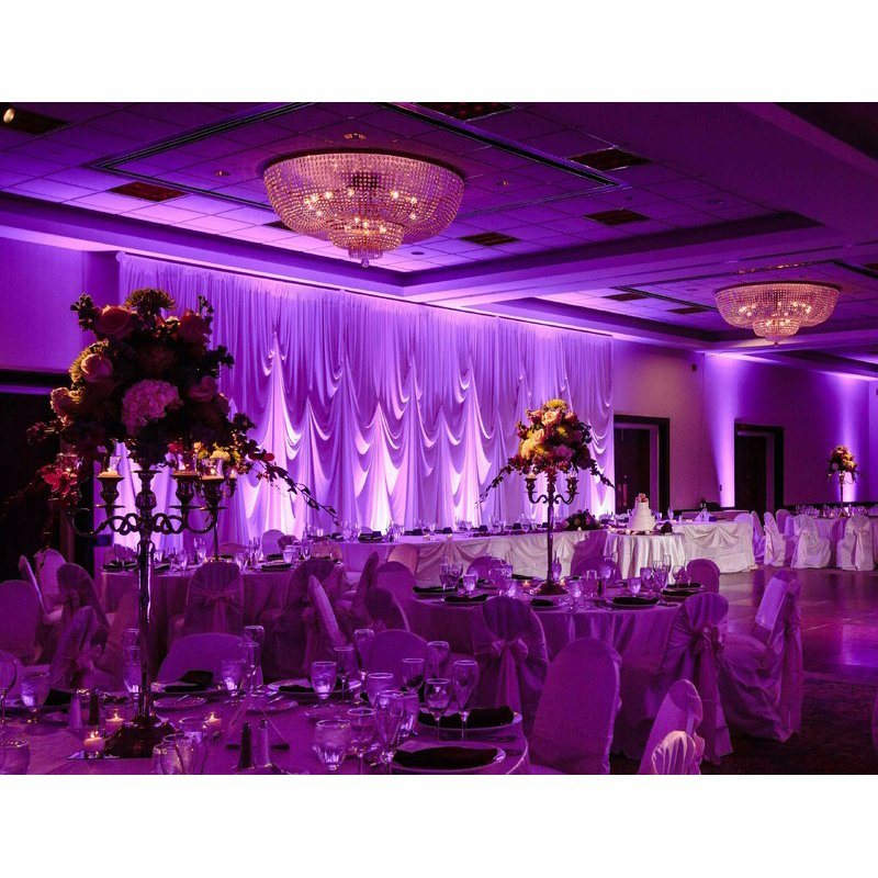 China Event Backdrop Drapes Wedding Venue Decoration Used Pipe And