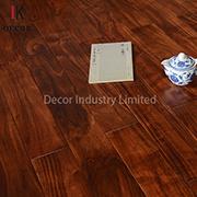 Dark Red Handcrafted Solid Wood Acacia Multyply Engineered Flooring
