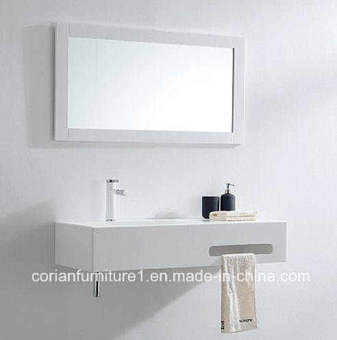 Corian Solid Surface Small Bathroom Basin Corian Vanity
