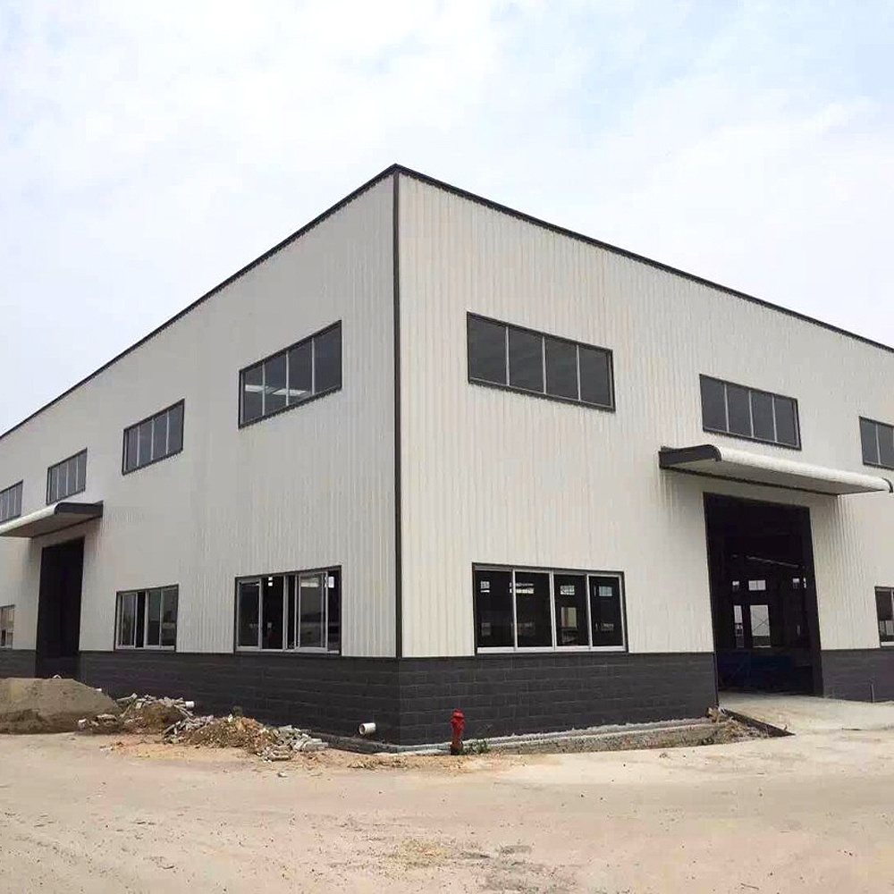 China Long Service Time Fireproofed Panel Steel Frame Structure ...