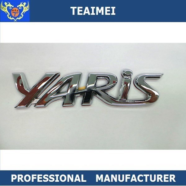 China custom abs chrome letter stickers car emblem badges china car emblem badges chrome letter stickers