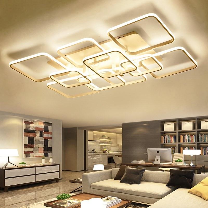 Living Room Led Ceiling Lights, Living Room Light Fixtures