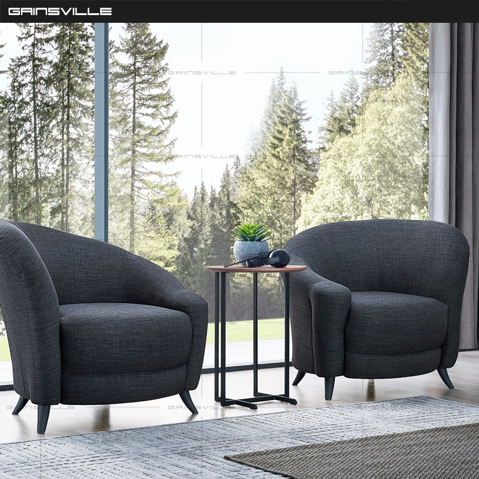 China Italy Home Modern Leisure Comfortable Chair Living Room Furniture Leather Sofa China Living Room Sets Living Room Furniture