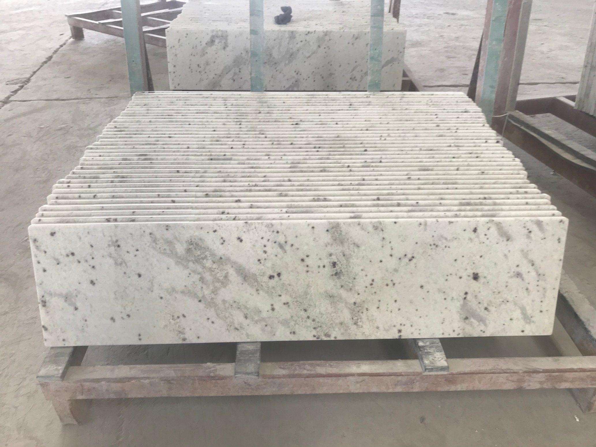 China Natural Andromeda White Granite Countertops For Kitchen China Andromeda White Granite Granite Countertop