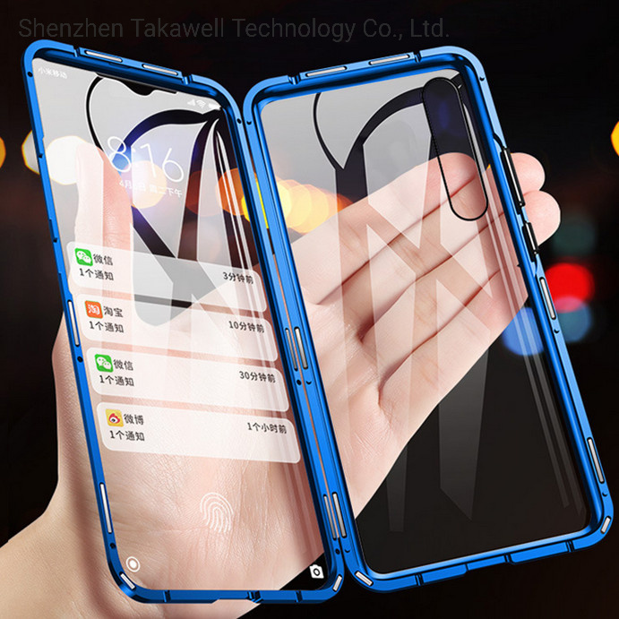 2019 New Magenetic Metal Bumper Cell Phone Case Cover for iPhone 6/7/8/X/Xr/Xsmax pictures & photos