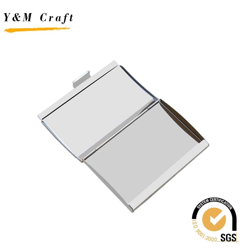 China Custom Promotional Metal Name Card Cases Business Card Holder ...