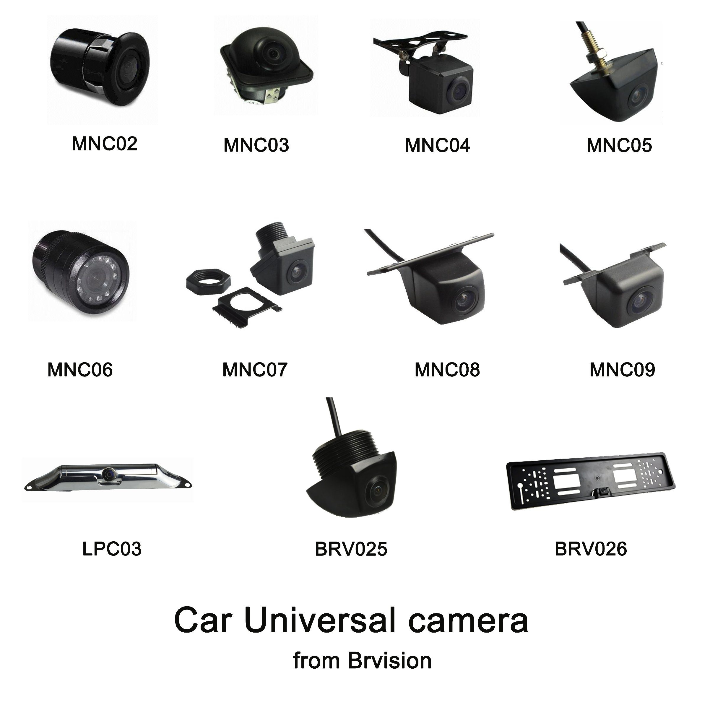 Waterproof IP69k License Plate Rear View Camera for Car pictures & photos
