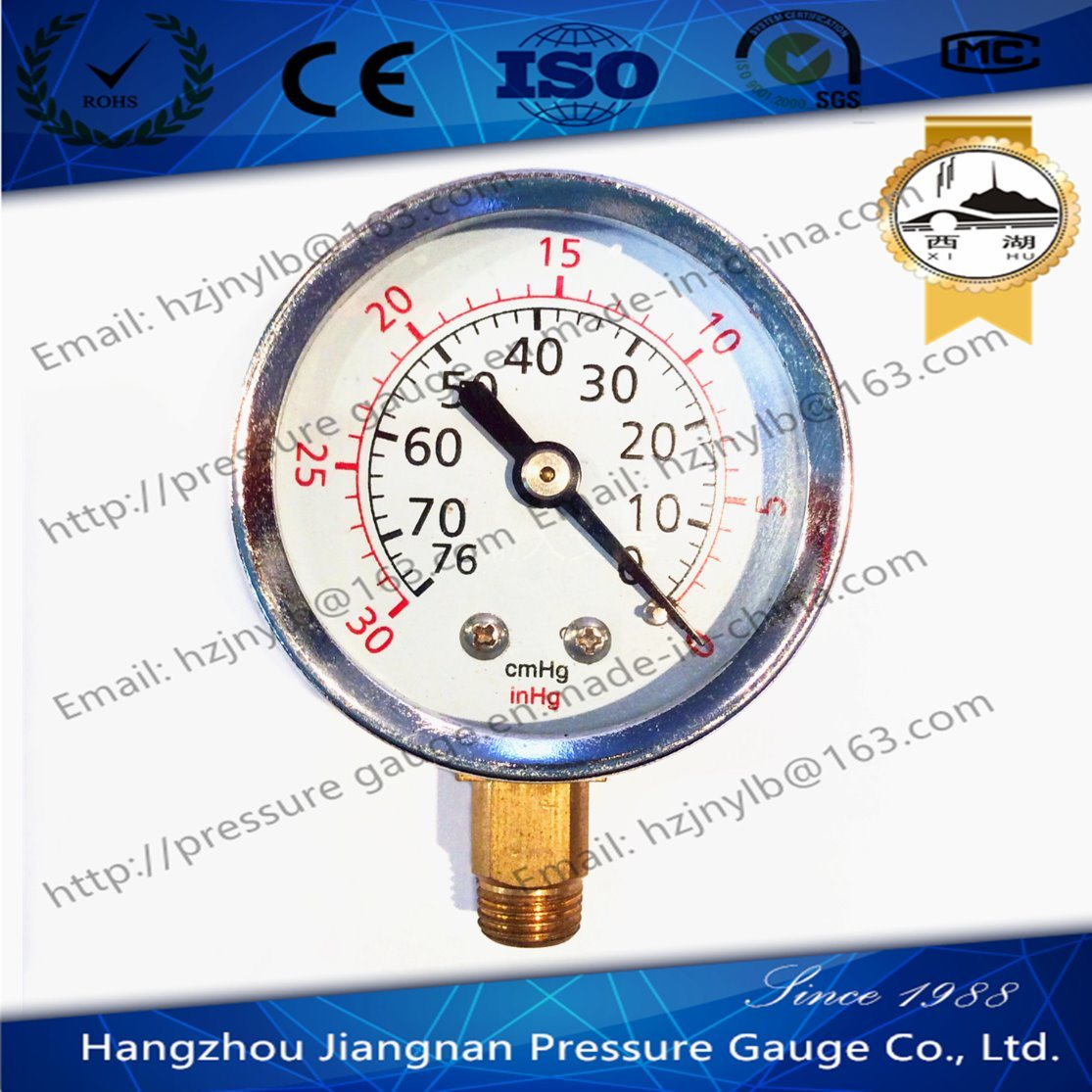 50mm 2′′ Vacuum Pressure Gauge-General Presssure Gauge